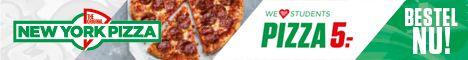 New York Pizza Studenten Kortingscodes